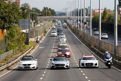 DTM Safety Cars in Budapest