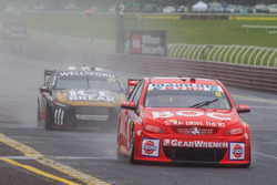 Jason Bright and Andrew Jones, Brad Jones Racing Holden, Chris Pither and Richie Stanaway, Super Black Racing Ford