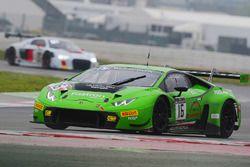 Lamborghini Huracan GT3 команды GRT Grasser Racing Team: Йерун Блекемолен, Штефан Росина