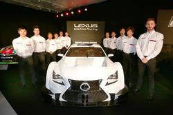 Lexus Super GT RC F e i piloti