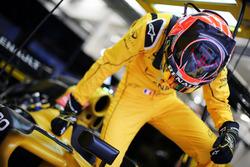 Esteban Ocon, pilote d'essais Renault Sport F1 Team