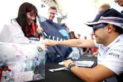Felipe Massa, Williams, ontmoet een fan