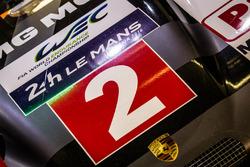 #2 Porsche Team Porsche 919 Hybrid front nose detail