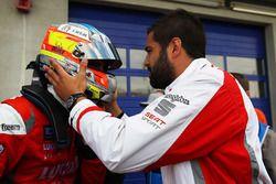 Yarış galibi Pepe Oriola, SEAT Leon, Craft Bamboo Racing LUKOIL