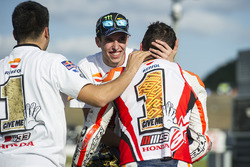 Race winner Marc Marquez, Repsol Honda Team, Alex Marquez, Marc VDS