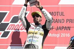 Podium : Thomas Lüthi, Interwetten, vainqueur de la course