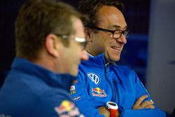 Francois-Xavier Demaison and Sven Smeets, Volkswagen Motorsport Director