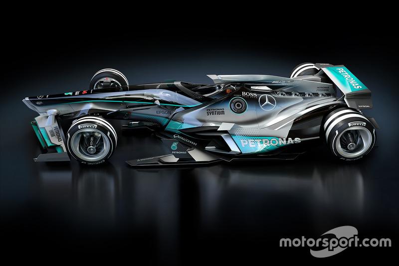 Mercedes 2030 fantasy design