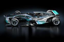 Mercedes, design di fantasia per il 2030