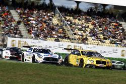 #7 Bentley Team ABT, Bentley Continental GT3: Daniel Abt, Jordan Lee Pepper; #1 AMG - Team Zakspeed