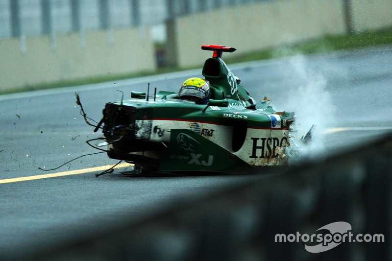 Accidente de Mark Webber, Jaguar