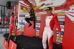 Coppa Shell podium: winner Erich Prinoth