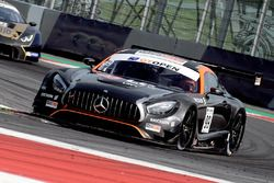 #99 Sports and You Mercedes AMG GT3: Manuel Da Costa, Miguel Sardinha