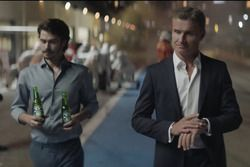 David Coulthard in de nieuwe reclamespot van Heineken
