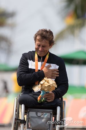 Podium: winnaar Alex Zanardi