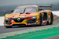 #11 AB Sport Auto Renault RS 01: Eric van de Vyver, Tiziano Carugati, Han Huilin