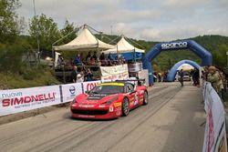 Partenza: Roberto Ragazzi, Ferrari 458 Challenge Evo #47