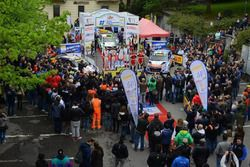 Rally del Taro, palco finale