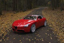 Alfa Romeo Spider Quadrifoglio render