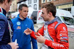 Stéphane Lefebvre, Citroën DS3 WRC, Abu Dhabi Total World Rally Team and Julien Ingrassia, Volkswage