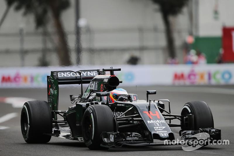 11. Fernando Alonso, McLaren MP4-31