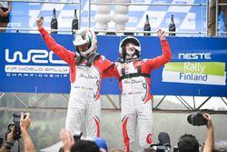 Winners Kris Meeke, Paul Nagle, Citroën DS3 WRC, Citroën World Rally Team