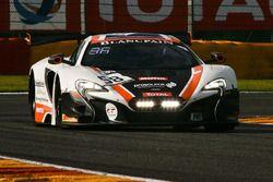 #58 Garage 59 McLaren 650 S GT3: Shane Van Gisbergen, C?me Ledogar, Rob Bell