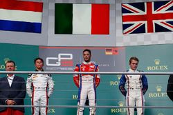 Antonio Fuoco, Trident; Nyck De Vries, ART Grand Prix Matthew Parry, Koiranen GP