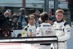 #99 Rowe Racing, BMW M6 GT3: Alexander Sims; #88 AMG-Team AKKA ASP, Mercedes-AMG GT3: Renger Van der