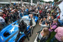 Starting grid, #56 Black Falcon, Mercedes-AMG GT3: Abdulaziz Al Faisal, Daniel Juncadella, Oliver Mo