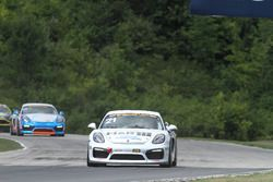 #21 Muehlner Motorsports America, Porsche Cayman GT4: Peter Ludwig, Jeroen Bleekemolen