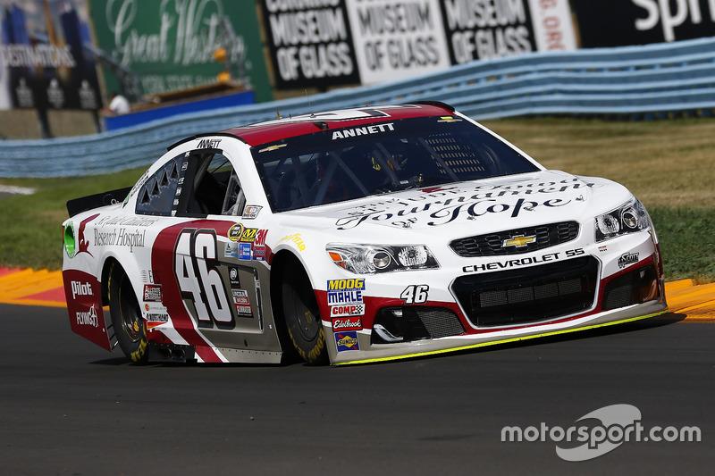 37. Michael Annett, HScott Motorsports, Chevrolet