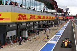 Esteban Ocon, pilote d'essais Renault Sport F1 Team R.S.16