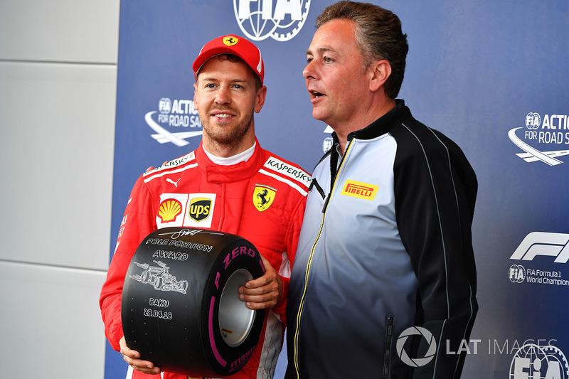 4. GP Azerbaijan - Pole: Sebastian Vettel