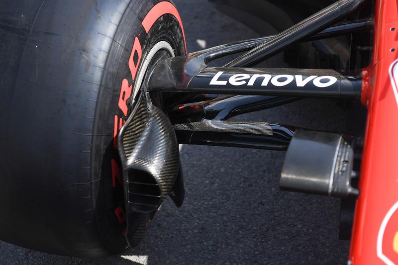 Ferrari SF71H conducto de freno delantero