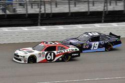 Kaz Grala, Fury Race Cars LLC, Ford Mustang NETTTS and Brandon Jones, Joe Gibbs Racing, Toyota Camry