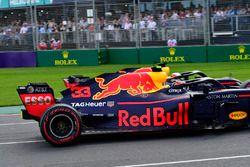 Max Verstappen, Red Bull Racing RB14 en tête-à-queue