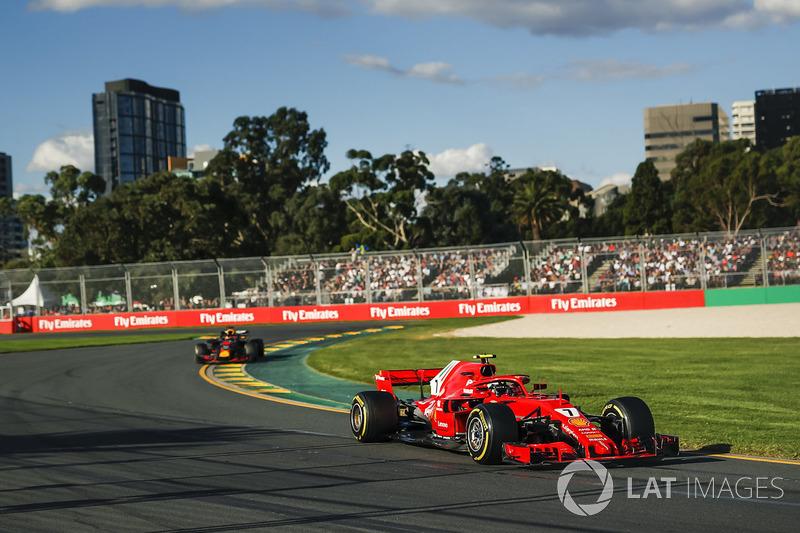 """Derde plaats Kimi Raikkonen: """"Algehele plaatje ziet er goed uit"""""""