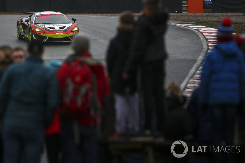#501 Balfe Motorsport McLaren 570S GT4: Graham Johnson, Mike Robinson