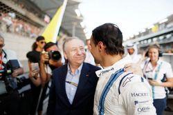 Jean Todt, President, FIA, Felipe Massa, Williams