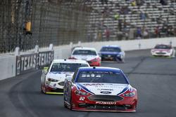 Joey Logano, Team Penske Ford, Kevin Harvick, Stewart-Haas Racing Ford