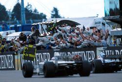 Siegerjubel: Stewart Grand Prix