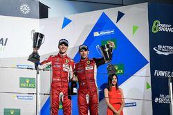 Podio GTE Pro: al terzo posto James Calado, Alessandro Pier Guidi, AF Corse