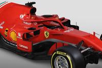 Ferrari SF71H halo detail