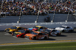 Martin Truex Jr., Furniture Row Racing Toyota, Daniel Suarez, Joe Gibbs Racing Toyota, Erik Jones, J