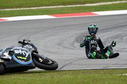 Stefano Manzi, Sky Racing Team VR46 crash