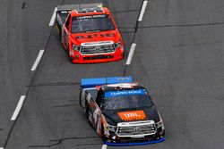 Christopher Bell, Kyle Busch Motorsports Toyota, Grant Enfinger, ThorSport Racing Toyota