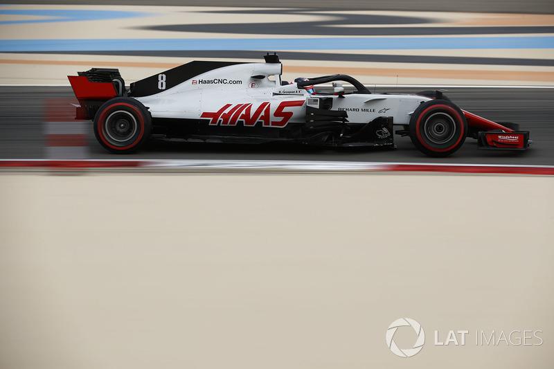 11. Romain Grosjean, Haas F1 Team VF-18