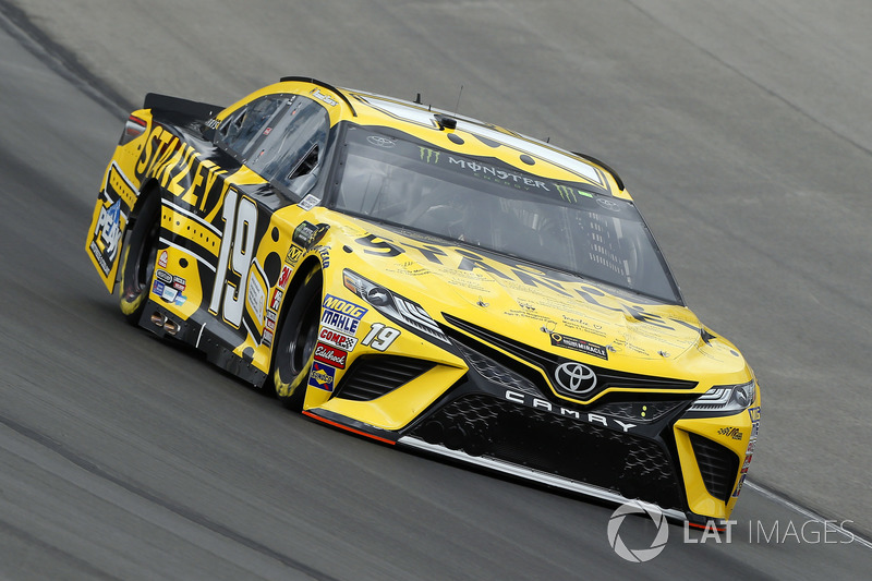 14. Daniel Suarez, No. 19 Joe Gibbs Racing Toyota Camry