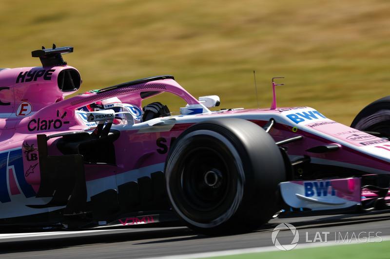10. Sergio Perez, Force India VJM11